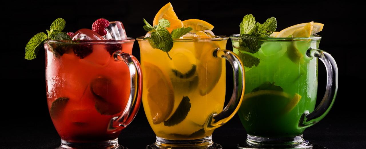 Napoje i alkohole